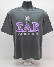 Sigma Alpha Epsilon Dry Fit T-Shirt Grey