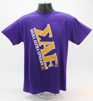 Sigma Alpha Epsilon Fraternity T-Shirt Purple