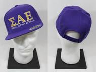Sigma Alpha Epsilon Snapback Hat Purple