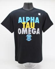 Alpha Tau Omega Fraternity T-Shirt Black