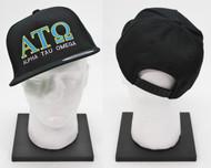 Alpha Tau Omega Snapback Hat Black