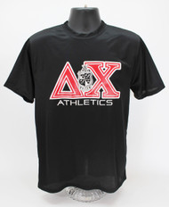 Delta Chi Dry Fit T-Shirt Black