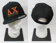 Delta Chi Snapback Hat Black