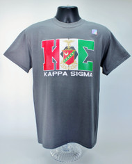 Kappa Sigma Grey Fraternity T-Shirt