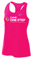 Camp One Step Nike Ladies Dri Fit Balance Tank (Adult Sizes)