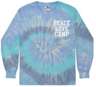 Camp One Step Unisex Tie-Dyed Long Sleeve (Youth Sizes Available)