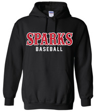Sparks Gildan Heavy Blend Hoodie Black (youth sizes available)