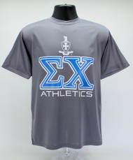 Sigma Chi Dry Fit T-Shirt Grey ΣX