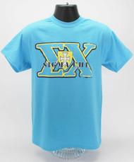 Sigma Chi T-Shirt Heather Sapphire ΣX