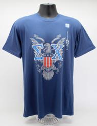 Sigma Chi T-Shirt Navy Blue ΣX