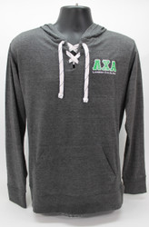 Lambda Chi Alpha Long Sleeve Hooded T-Shirt Grey Hoodie ΛΧΑ