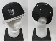Lambda Chi Alpha Snapback Lion Hat Black with Grey Brim ΛΧΑ