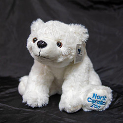 Plush Polar Bear Cub