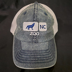 Denim Mesh Caps - Two color options