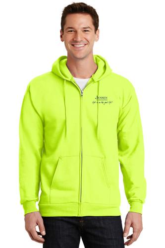 Port and Company Full Zip Sweatshirt