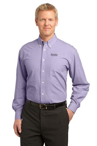 Port Authority Plaid Easy Care Shirt