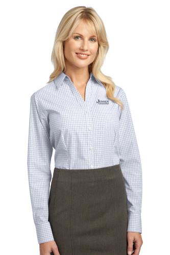 Port Authority Ladies Plaid Easy Care Shirt