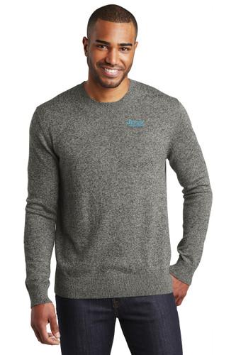 Port Authority Marled Crew Sweater