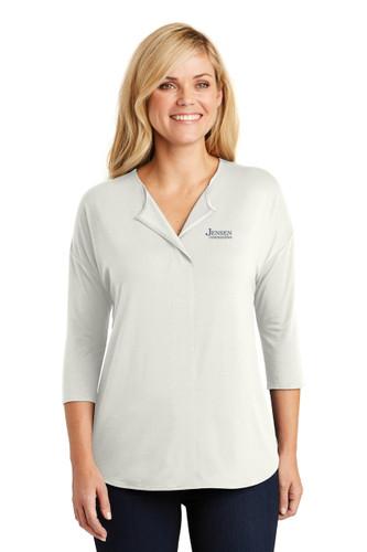 Port Authority Ladies 3/4 Sleeve Top