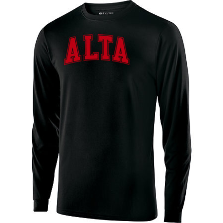 Alta Long Sleeve T-Shirt with Red Logo