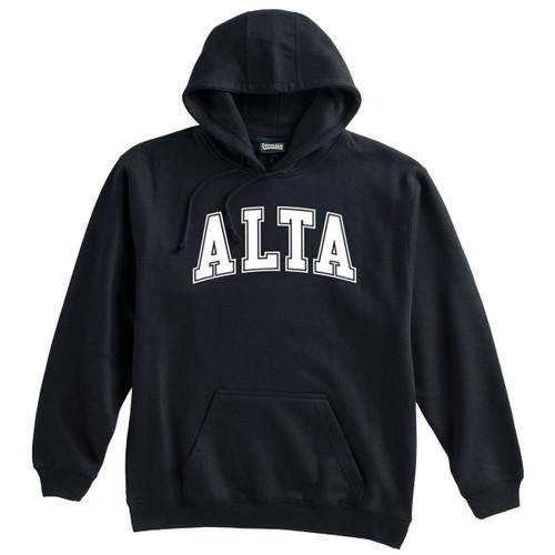 Alta Hooded Sweatshirt with White Logo