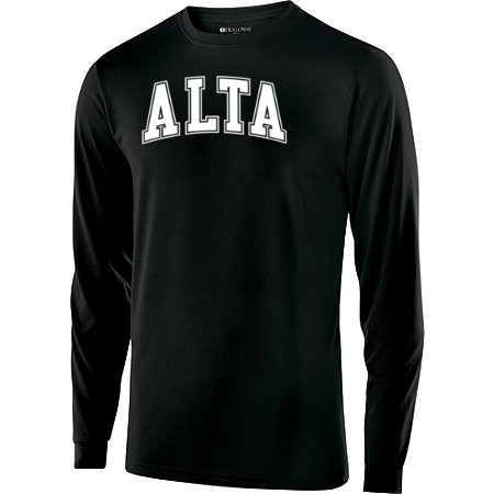 Alta Long Sleeve T-Shirt with White Logo