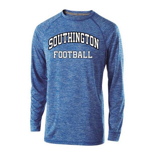 Southington Football Unisex Snowy Heather Long Sleeve Shirt