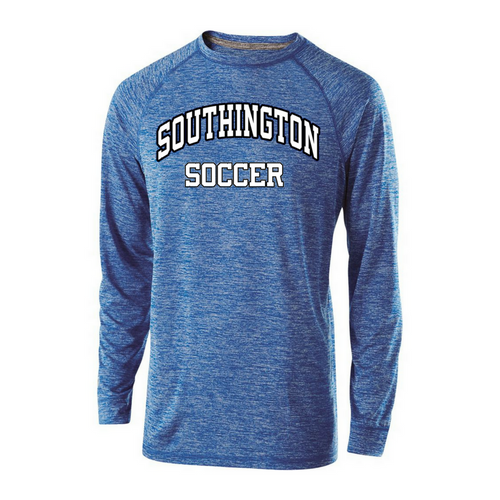 Southington Soccer Unisex Snowy Heather Long Sleeve Shirt