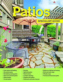 Patios (Designing, building, improving, and maintaining patios, paths and steps) by A. & G. Bridgewater, 9781580117500