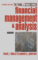 Financial Management and Analysis by Frank J. Fabozzi, Pamela P. Peterson, 9780471234845