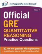 Official GRE Quantitative Reasoning Practice Questions - 9780071834322 by Educational Testing Service, 9780071834322