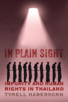 In Plain Sight (Impunity and Human Rights in Thailand) by Tyrell Haberkorn, 9780299314408