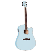 Tanglewood TWDBTDCESBL Discovery Dreadnought C/E Surf Blue