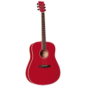 Tanglewood TWDBTDRD Discovery Dreadnought Red