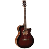Tanglewood TW4WB Winterleaf Super Folk C/E Whiskey Barrel Burst