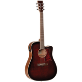 Tanglewood TW5WB Winterleaf Dreadnought C/E Whiskey Barrel Burst Gloss