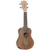 Tanglewood TWT2 Tiare Soprano Ukulele All Black Walnut
