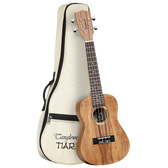 Tanglewood TWT8 Tiare Concert Ukulele All Koa with Bag