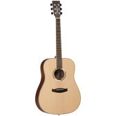Tanglewood TDBTDEB Discovery Exotic Dreadnought Ebony