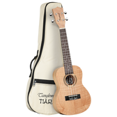 Tanglewood TWT6B Tiare Concert Ukulele All Flame Mahogany with Bag
