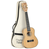 Tanglewood TWT11B Tiare Concert Uklulele Cedar/Spalted Maple with Bag