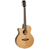 Tanglewood Java Superfolk Cutaway Electric Left-Handed Guitar