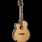 Tanglewood Java Superfolk Cutaway Electric Left-Handed Guitar
