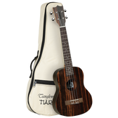 Tanglewood TWT19B Tiare Tenor Ukulele All Figured Ebony w/Gig Bag