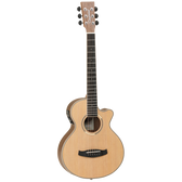 Tanglewood TDBTTCEBW Discovery Exotic Traveller C/E Black Walnut