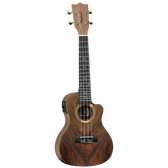Tanglewood TWT21E Tiare Concert Ukulele Hawaiian Rain Tree w/Pickup