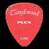 Tanglewood TWPP1 Plex Picks Pack of 12 .050 Red