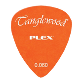Tanglewood TWPP2 Plex Picks Pack of 12 .060 Orange