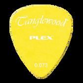 Tanglewood TWPP3 Plex Picks Pack of 12 .073 Yellow