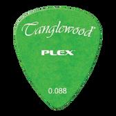 Tanglewood TWPP4 Plex Picks Pack of 12 .088 Green